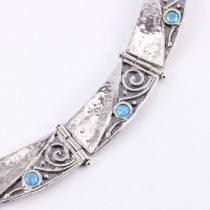 Izraeli ezüst opál lánc
