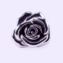 """Ezüst rózsa alakú gyűrű """"nagy"""""""