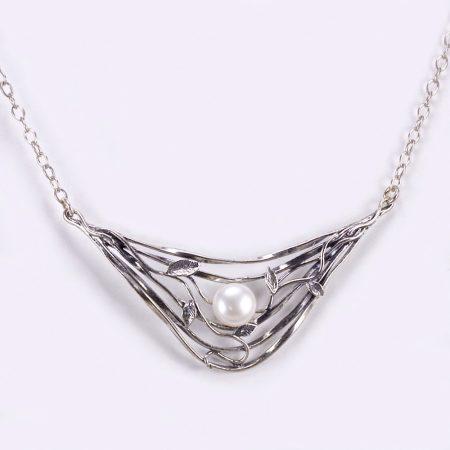 Izraeli ezüst gyöngy lánc