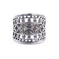 """Ezüst kő nélküli gyűrű """"áttört.17"""""""
