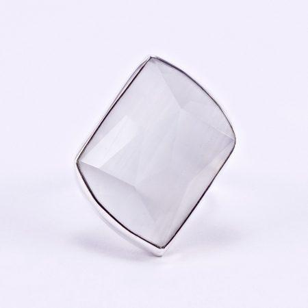 Ezüst ulexit gyűrű
