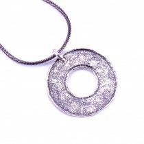 """Izraeli ezüst medál lánccal """"ür.kör"""""""