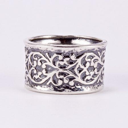 """Izraeli ezüst gyűrű """"13"""""""
