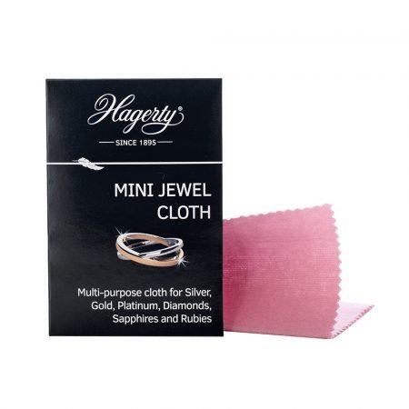 Hagerty mini ékszer tisztító kendő 9x12cm