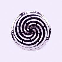 """Ezüst gyűrű """"spirál"""""""