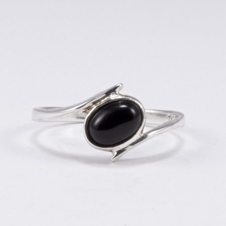 Ezüst ónix gyűrű 3.