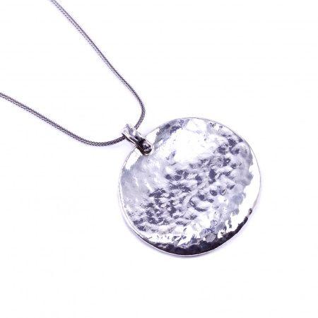 """Izraeli ezüst medál lánccal """"nagy.ovál"""""""