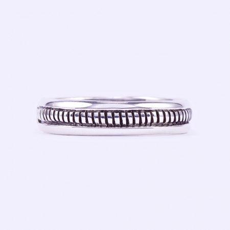 """Ezüst antikolt gyűrű """"5"""""""