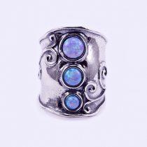 """Izraeli ezüst opál köves gyűrű """"3..függ"""""""