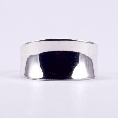 """Ezüst homorú gyűrű """"kis"""""""