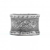 """Izraeli ezüst csőgyűrű """"14"""""""