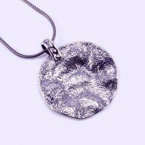 """Izraeli ezüst medál lánccal """"kör"""""""
