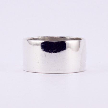 """Ezüst csőgyűrű """"10"""""""