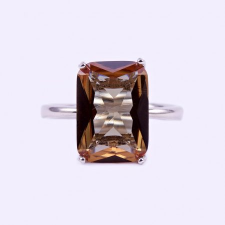 """Ezüst zultanit köves gyűrű """"10x14"""""""