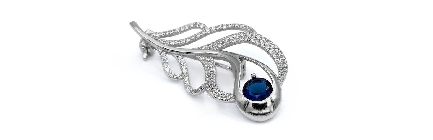 Shablool izraeli ezüst karóra opál kövekkel